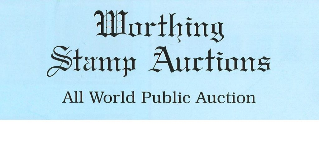 Worthing Stamp auction