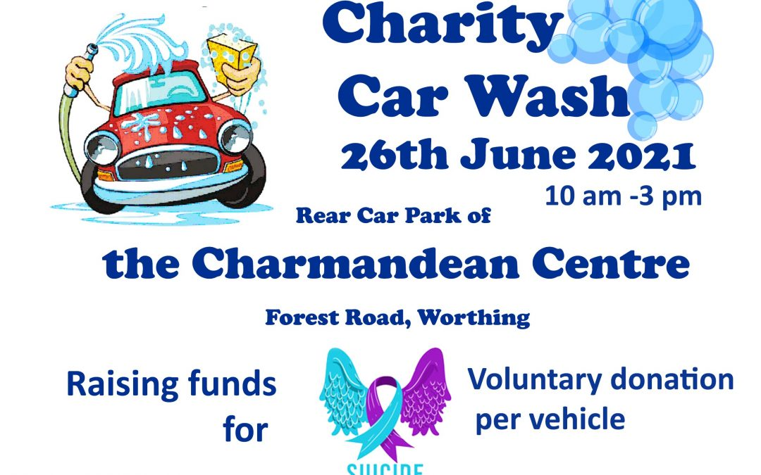 Charity Car Wash 26th June 2021